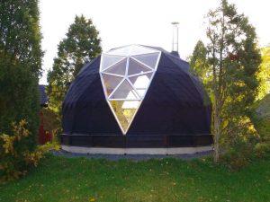 Biodome Annorlunda kupolformad bastu