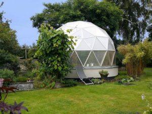 Biodome Spira i trädgård